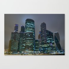 Moscow's Skyscrapers Canvas Print