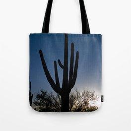 Sunset Cacti 3 Tote Bag