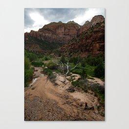 Zion Tree Canvas Print