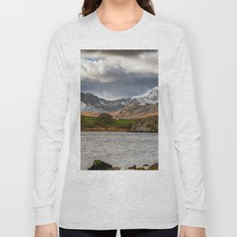 Snowdon Winter Landscape Long Sleeve T-shirt