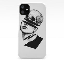 Head Skull Body Slice iPhone Case