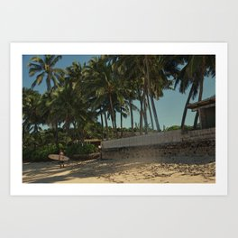 Alone in Paradise  Art Print