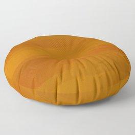 Warm Butterscotch Pecan Pie Floor Pillow