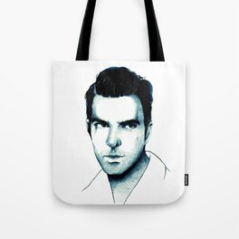 Zachary Quinto Tote Bag
