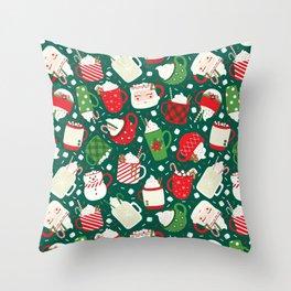 Christmas Cocoa Traditional Throw Pillow