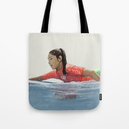 Roxy surf girl Tote Bag