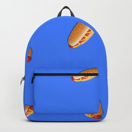 The awesome taste of a good old hot-dog Backpack