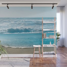 Blue Sea Backdrop Wall Mural