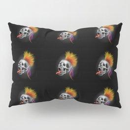 Psycho Skull Pillow Sham