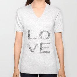 Tangled Love Unisex V-Neck