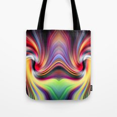 Contemplating Rainbows Tote Bag