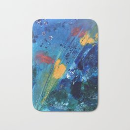 Views of Rainbow Coral, Tiny World Collection Bath Mat