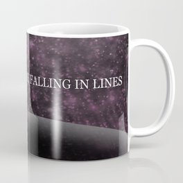 The Pink Stars Are Falling In Lines Coffee Mug