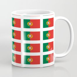 flag of portugal 2 -Portuguese,mirandese,Portugués,lisbon,porto. Coffee Mug
