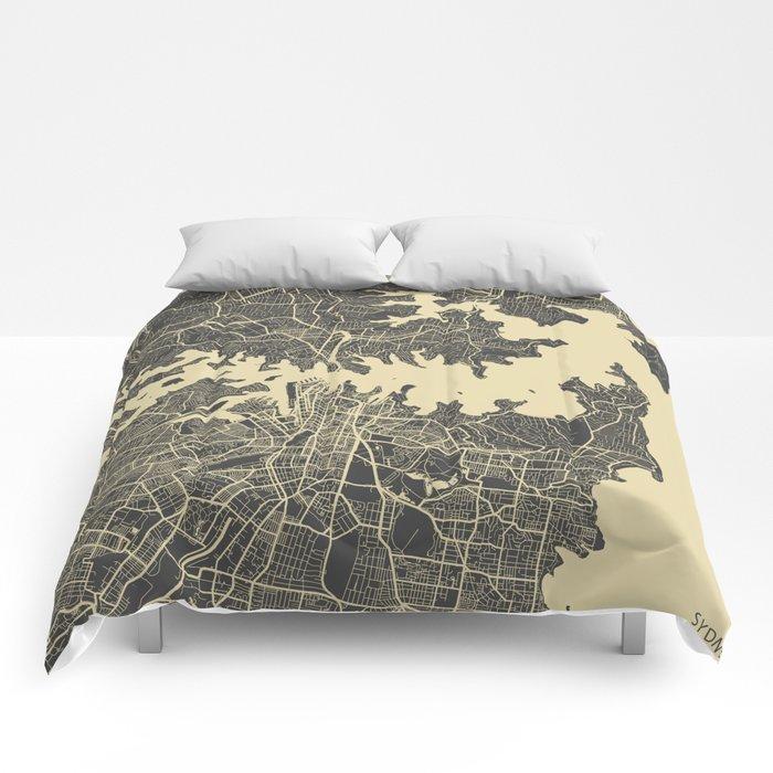 Sydney map Comforters