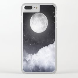 Touch of the moon II Clear iPhone Case