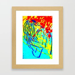 Embrace Remixed Framed Art Print