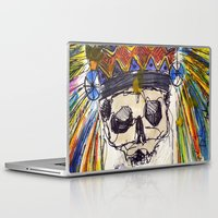 indiana jones Laptop & iPad Skins featuring Indiana jones till the end by MGNFQ