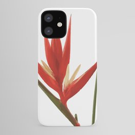 Helicona Flower red iPhone Case