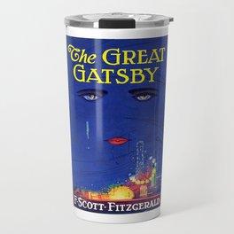 The Great Gatsby Original Book Cover Art Travel Mug