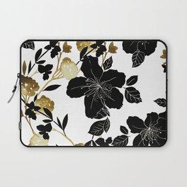 Black Azelea Laptop Sleeve