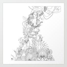 Edena Art Print