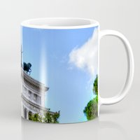 rome Mugs featuring Rome. by haroulita