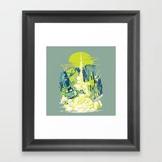 Smash! Zap!! Zooom!! - Annoying Kidd Framed Art Print