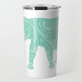 Mandala Elephant 6-22 Travel Mug