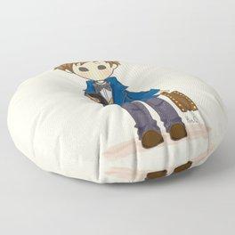 Newt Scamander & Niffler. Floor Pillow