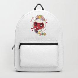 Unicorn Dead pool Backpack