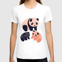 pandas T-shirts featuring Somos Pandas by Pamku