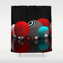 geometric horizons -3- Shower Curtain