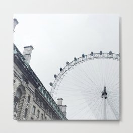 Panoramic wheel Metal Print