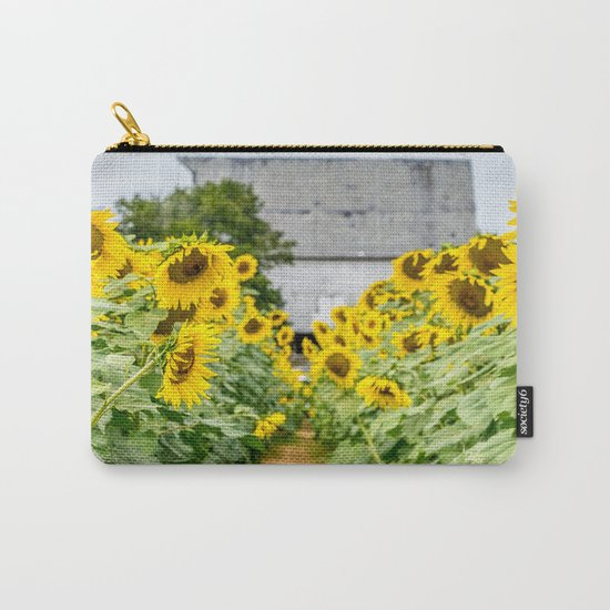 Follow the Yellow Flower Road Carry-All Pouch