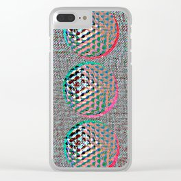 SHADES OF GREY #GOLFBALLS Clear iPhone Case