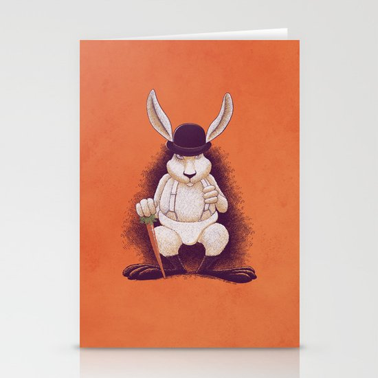 A Clocwork Carrot Stationery Cards