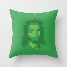 Mosaic Messiah ( Jesus ) Throw Pillow