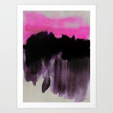 Deconstructed Horizon Art Print