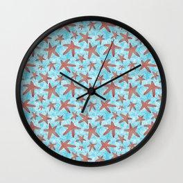 Star Spangled Sea Wall Clock