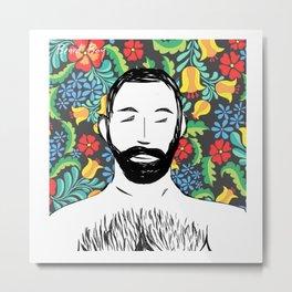 Beard Boy: Miguel Metal Print