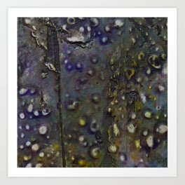 Beauty By the Square Inch  - Bubbles Art Print
