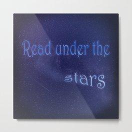 Read Under The Stars Metal Print