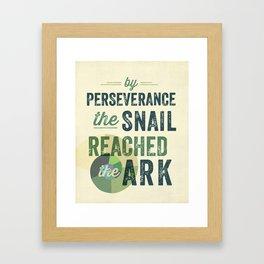 perseverance Framed Art Print