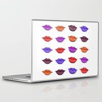lipstick Laptop & iPad Skins featuring Lipstick by Young Clerks