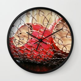 Basket Wall Clock