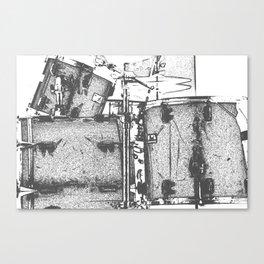 Drummin' Canvas Print