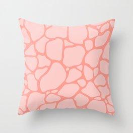 Giraffe 006 Throw Pillow