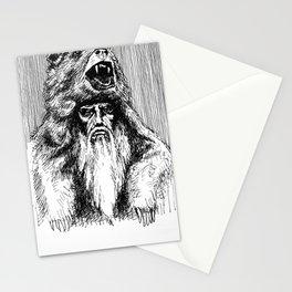 Santa Claws del Norte Stationery Cards