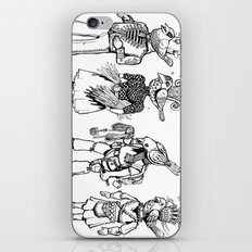 Birdheaded People iPhone & iPod Skin